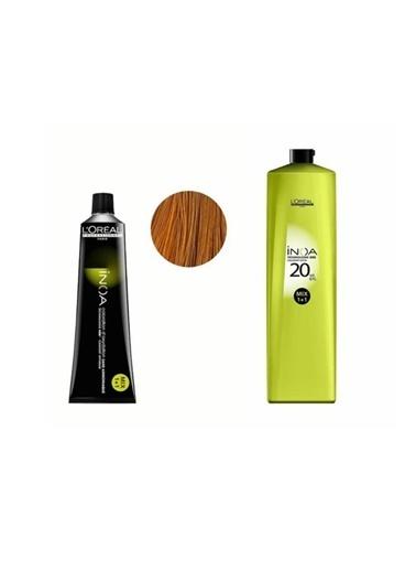 L'oreal Professionnel Loreal Inoa No:8,3 Saç Boyası 60 Gr+Oksidan 20 Vol. %6 1000 Ml Renksiz